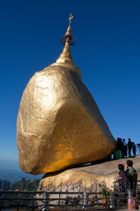 Пагода на голове отшельника.